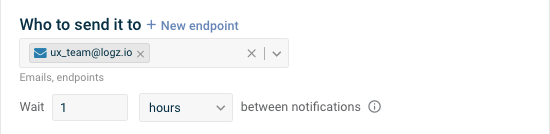 Recipients and suppress notifications