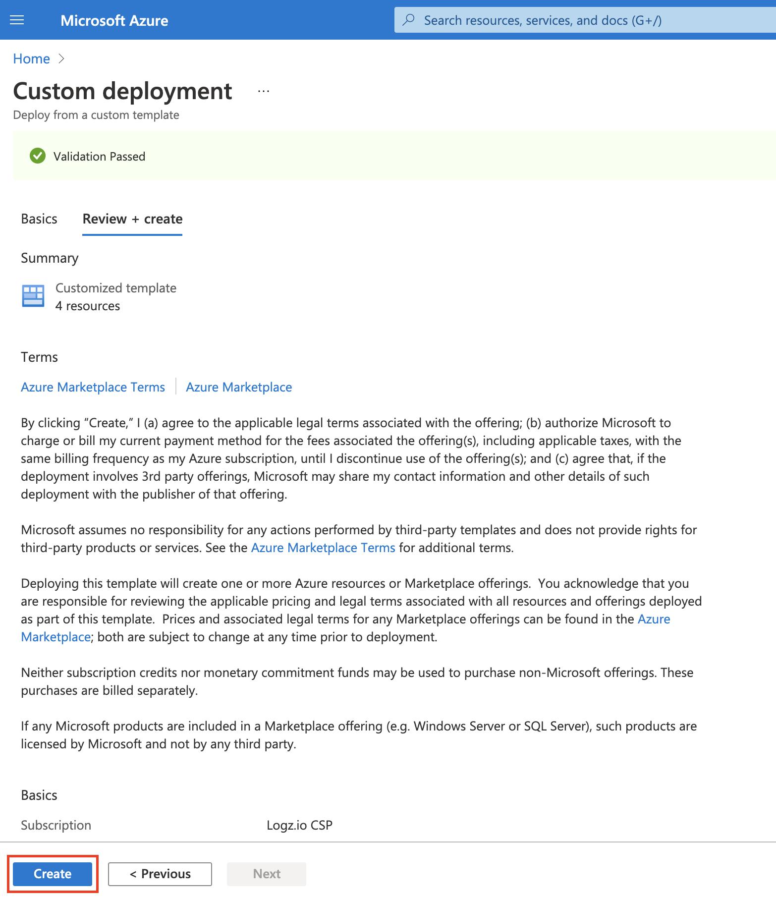 Custom deployment