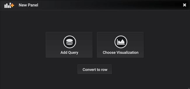 Grafana new panel
