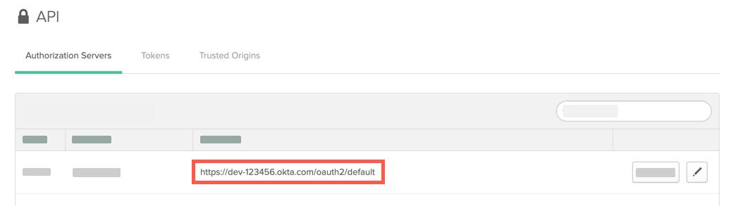 Okta URL