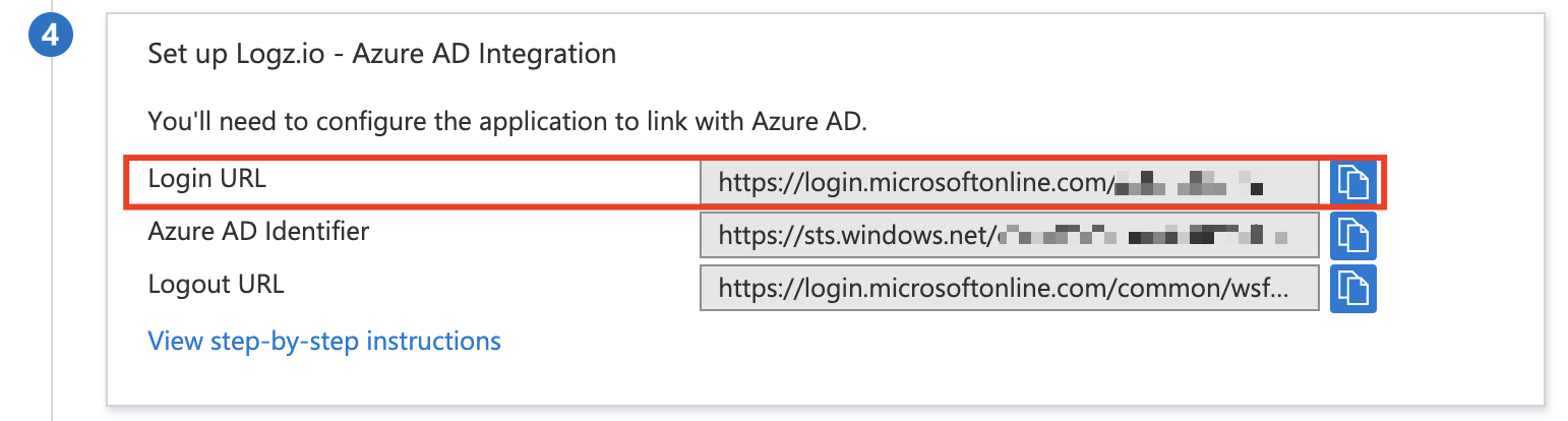 Azure SAML-P SIGN-ON ENDPOINT