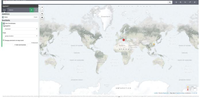 kibana map of ip address locations