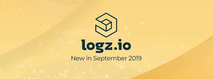 new in logz.io september