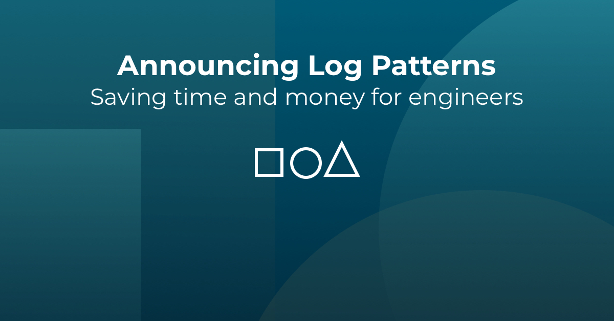 Logz.io introduces Log Patterns, a new feature for recognizing common scenarios in your logs to make log management far more efficient