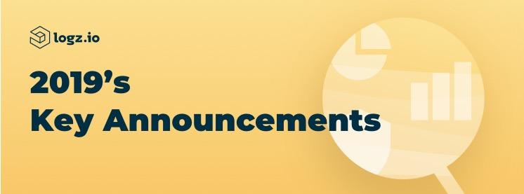 Major DevOps announcements by Logz.io in 2019