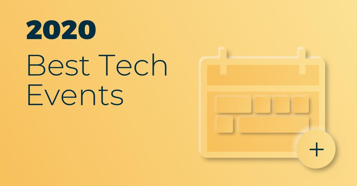 2020 tech events