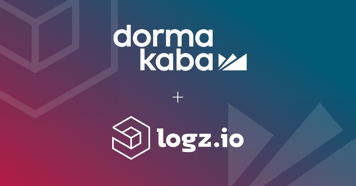 dormakaba EMEA finds scalable and secure logging with Logz.io