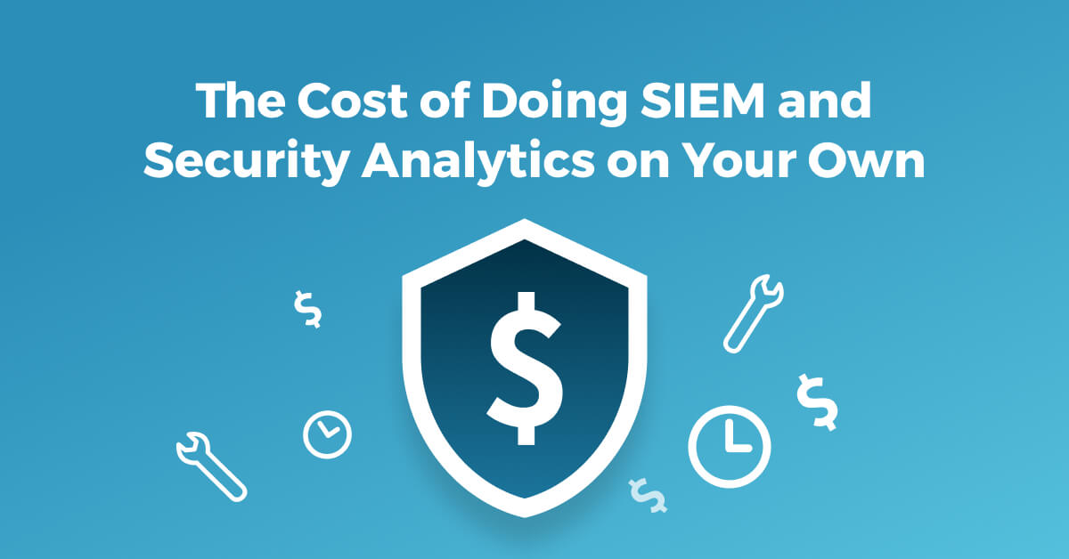 SIEM cost management