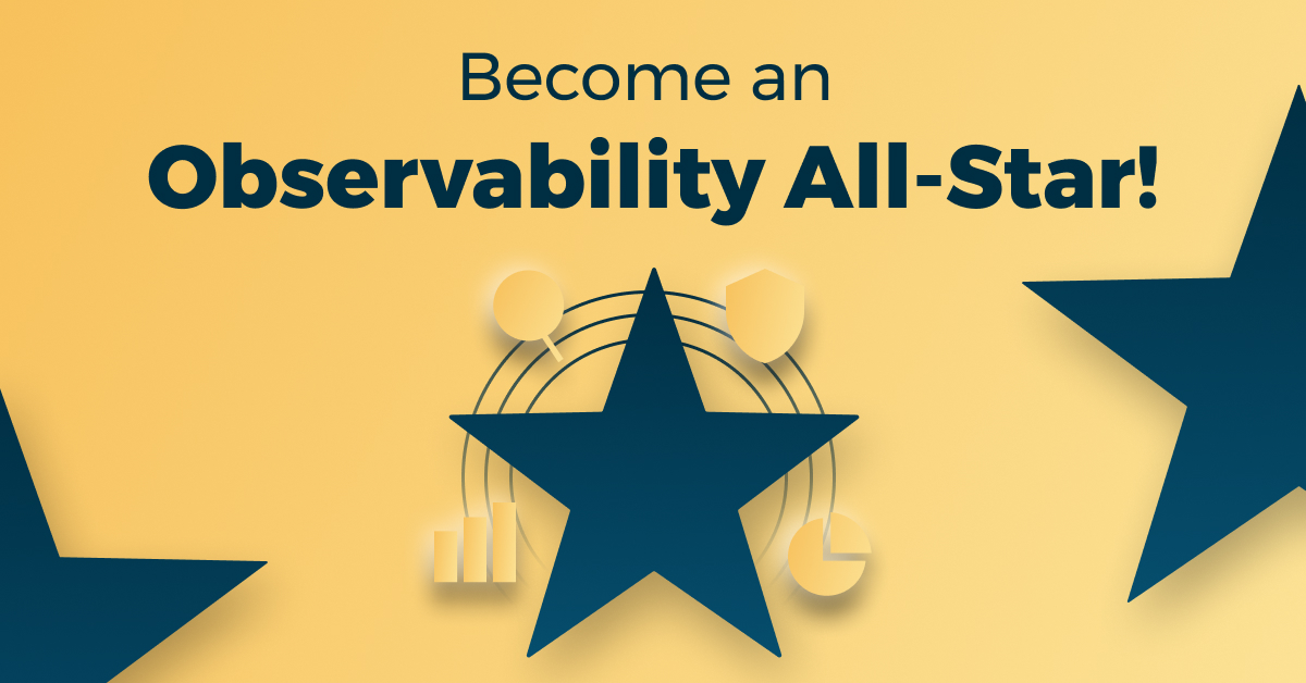 Become a Logz.io Observability All-Star