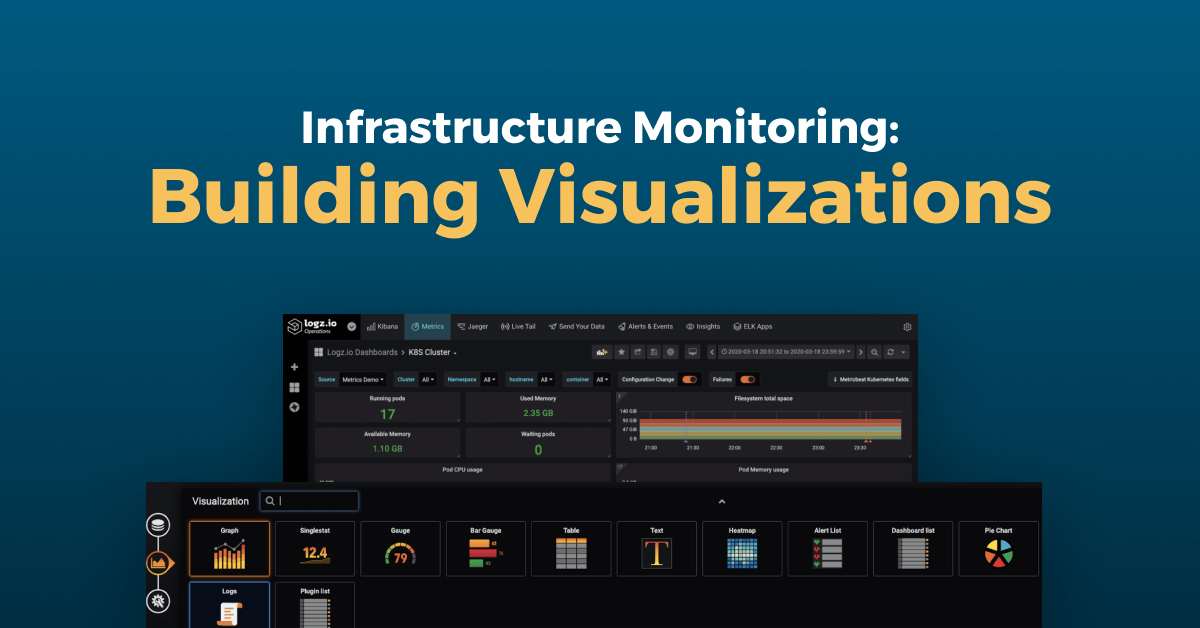 Logz.io Infrastructure Monitoring: Building Grafana Visualizations