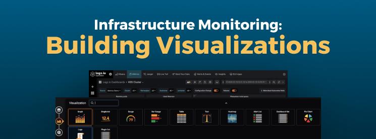 Logz.io Infrastructure Monitoring: Building Grafana Visualizations