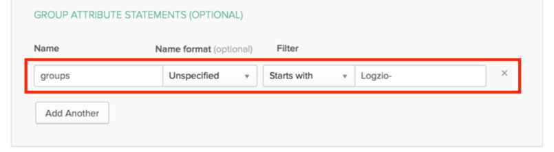 Group Attribute Settings in Okta (optional)