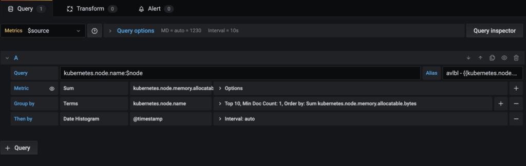 'kubernetes.node.memory.allocatable.bytes'