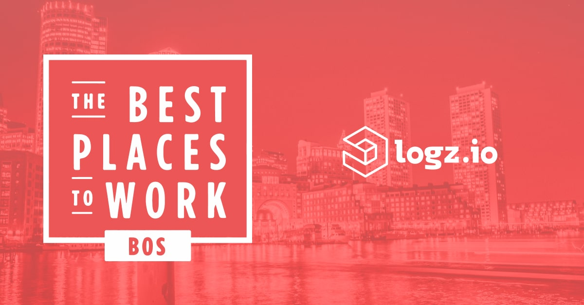 Logz.io ranked among the best startups to work at in Boston by Built In Boston