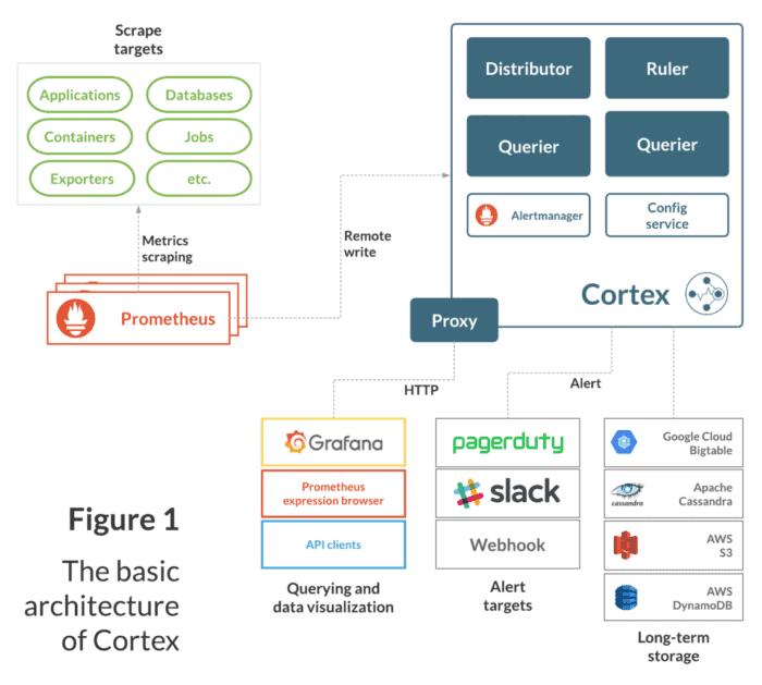 Basic Cortex Architecture for Prometheus