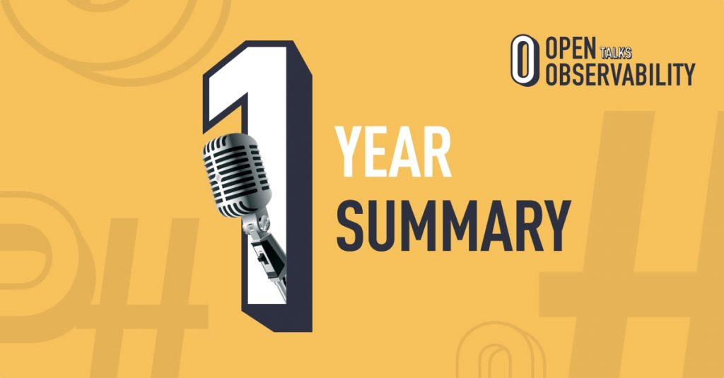 1 year of the OpenObservability Podcast
